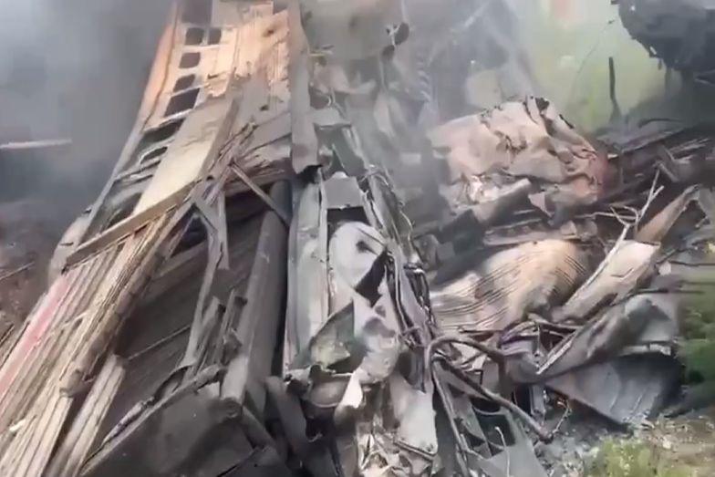 Katastrofa kolejowa w Rosji. Pojawiła się teoria, jak doszło do tragedii