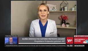 Dr Magdalena Krajewska o udziale w protestach: Jako lekarz muszę powiedzieć swoje zdanie