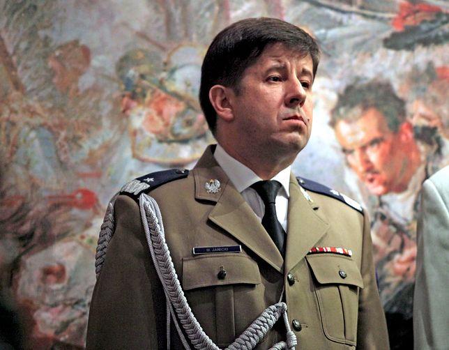 Gen. Marian Janicki wstąpił do PO