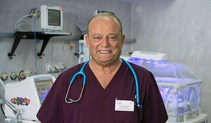 Riad Haidar pracował w szpitalu w Białej Podlaskiej niemal 30 lat