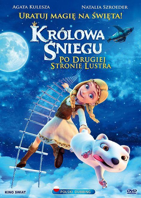 """Plakat z filmu """"Królowa śniegu: Po drugiej stronie lustra"""""""