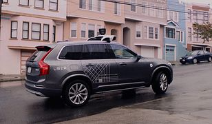Uber testuje autonomiczne Volvo w San Francisco