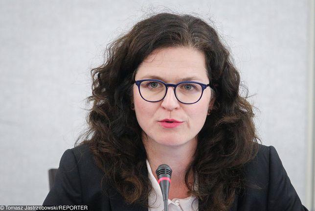 Aleksandra Dulkiewicz na posiedzeniu Komisji Kultury i Środkow Przekazu