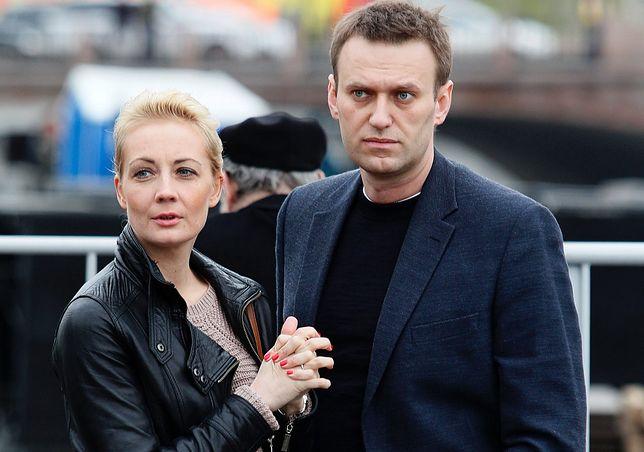Aleksiej Nawalny. Żona opozycjonisty wyjechała z Rosji? Jej prawniczka: nie mam takich informacji