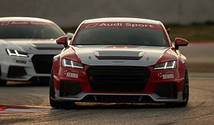 Polskie talenty testowały wyścigowe Audi TT