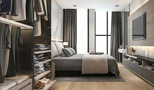 Garderoba w sypialni to jedna z najważniejszych domowych stref przechowywania
