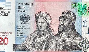 Nowy banknot NBP o nominale 20 złotych wejdzie na rynek