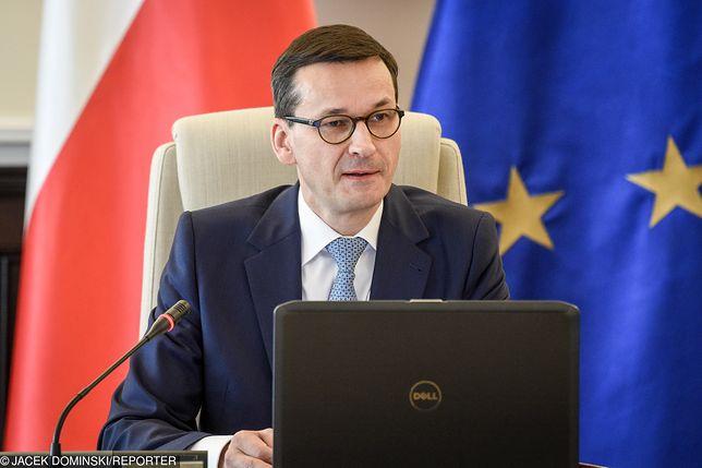 Premier Mateusz Morawiecki nic nie wie o pomyśle Beaty Szydło.