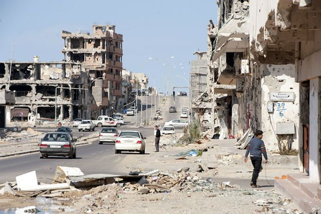 Atak na pole naftowe w Libii