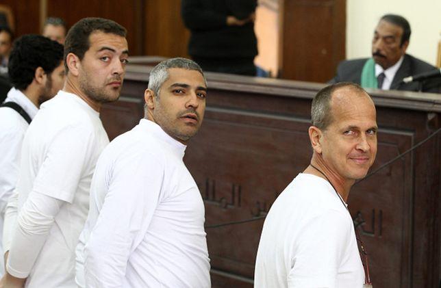 Peter Greste po uniewinnieniu przez egipski sąd