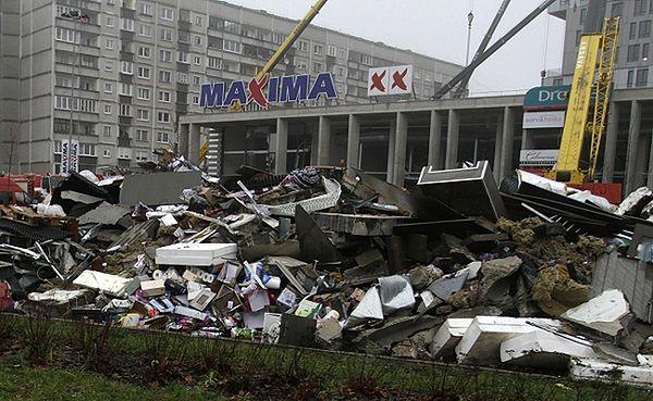 """Supermarket """"Maxima"""" w Rydze"""