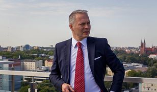 Poseł Jacek Żalek zapewnia, że start jego żony w wyborach to normalna rzecz