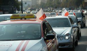 W poniedziałek protest taksówkarzy