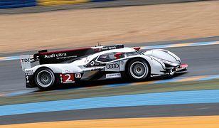 Wyścigowe Audi z hybrydą