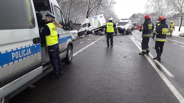 Groźny wypadek w miejscowości Orzechówek