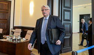 Waszczykowski rozmawiał o bezpieczeństwie Ukrainy z szefami MSZ Niemiec i Francji