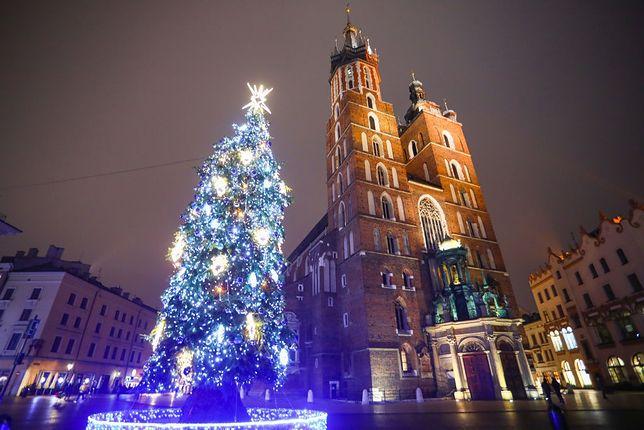 Kraków w bożonarodzeniowym klimacie
