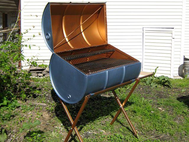 Barrel BBQ - grill zrobiony z beczki