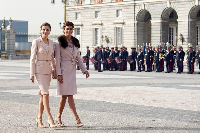 Królowa Letizia na spotkaniu z żoną prezydenta Argentyny