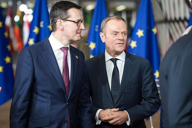 Mateusz Morawiecki skomentował słowa Donalda Tuska dotyczące brexitu