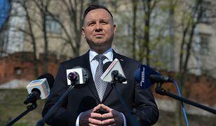 Prezydent Andrzej Duda. Oświadczenie