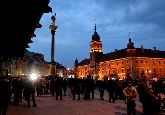 Polska zalana łzami - zdjęcia