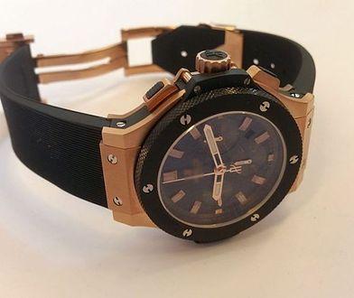 Próbował podmienić i ukraść zegarek wart... 30 tysięcy euro!