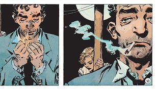 """""""Wielki kant"""", scen. Carlos Trilo, rys. Domingo Roberto Mandrafina"""
