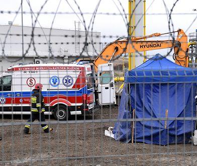 Śmierć robotnika na budowie gazociągu w Hermanowicach