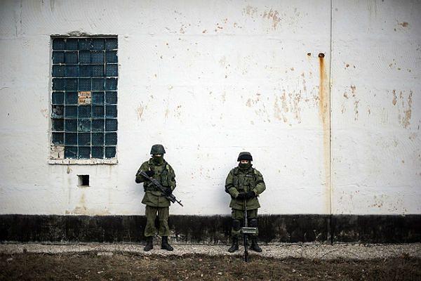 Rosyjscy żołnierze wdarli się pułku rakietowego pod Eupatorią na Krymie