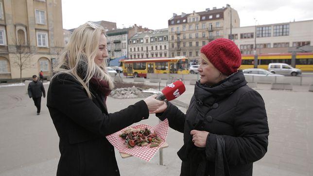 Przed Świętami wyszliśmy na ulice Warszawy, żeby zapytać Polaków, czy włożyliby do koszyczka wegańskie kiełbaski.