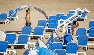 Europa skąpana w słońcu. Żar leje się z nieba od Hiszpanii po Grecję