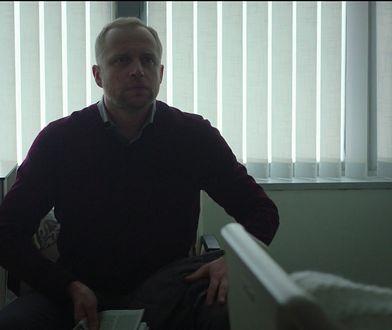 """Piotr Adamczyk w serialu """"Odpowiednik"""""""