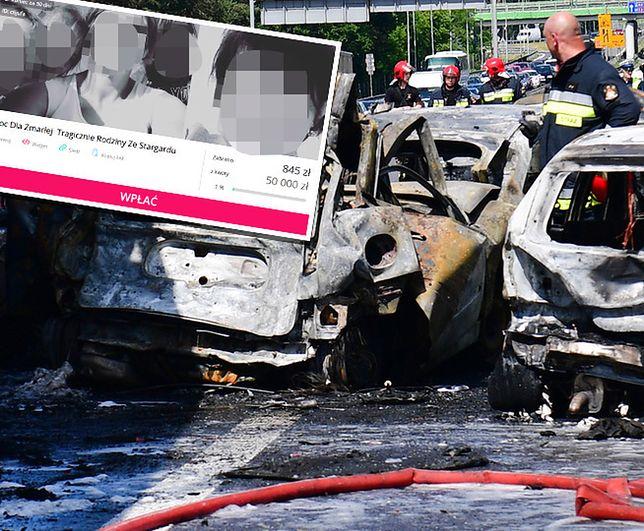 Wypadek na A6 pod Szczecinem. Zginęło sześć osób