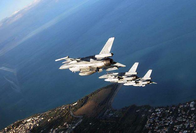 F-16 z 31. Bazy Lotnictwa Taktycznego