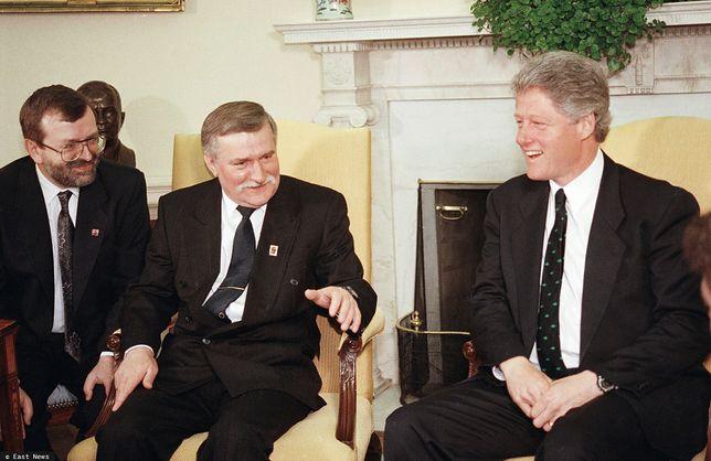 Odtajniono rozmowę, jaką Lech Wałęsa przeprowadził z Billem Clintonem w Gabinecie Owalnym w 1993 r.
