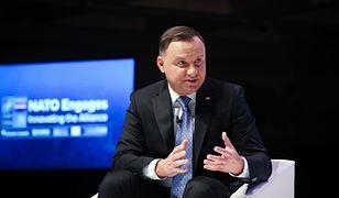 Andrzej Duda odpowiada Emmanuelowi Macronowi ws. NATO. Domaga się konkretów
