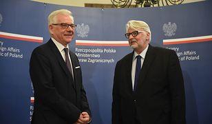 Na stanowisku ministra spraw zagranicznych Witolda Waszczykowskiego zastąpił Jacek Czaputowicz