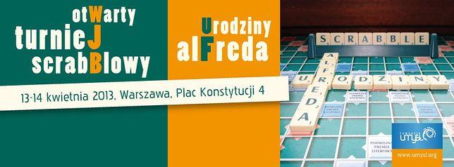"""Za darmo: turniej scrabblowy """"Urodziny Alfreda"""""""