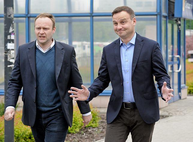 Marcin Mastalerek ma wciąż doradzać prezydentowi Andrzejowi Dudzie