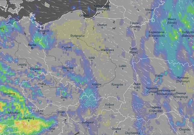 Prognoza pogody na Boże Narodzenie. Synoptycy zapowiadają słabe opady deszczu