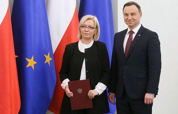 Sędzia Julia Przyłębska ośmieszyła prezydenta Andrzeja Dudę?