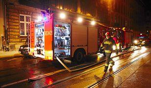 Tragiczny pożar w Łodzi. Mężczyzna spłonął żywcem