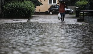 IMGW ostrzega: Gwałtowne wzrosty wód opadowych
