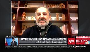 """Ksiądz Tadeusz Isakowicz-Zaleski: """"Liczę, że kardynał Dziwisz powie prawdę"""""""