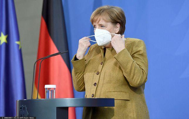 Koronawirus. Kanclerz Niemiec Angela Merkel