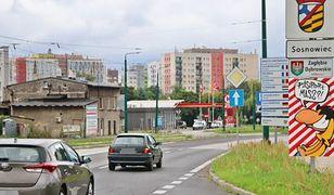 Sosnowiec. Utrudnienia w ruchu. Robotnicy pojawili się na ulicy Piłsudskiego