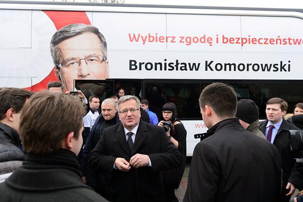 """Bronisław Komorowski zaatakował konkurentów. """"Same puste obietnice, to polityczni naciągacze"""""""