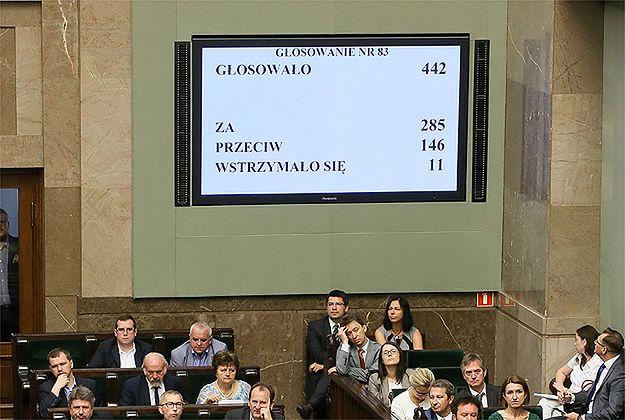 Będą kary dla posłów, którzy złamali dyscyplinę w głosowaniu nad RPO?