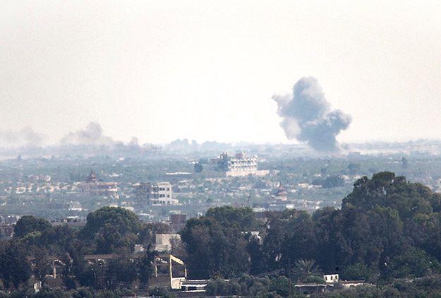 Dwie rakiety z Synaju spadły na południu Izraela
